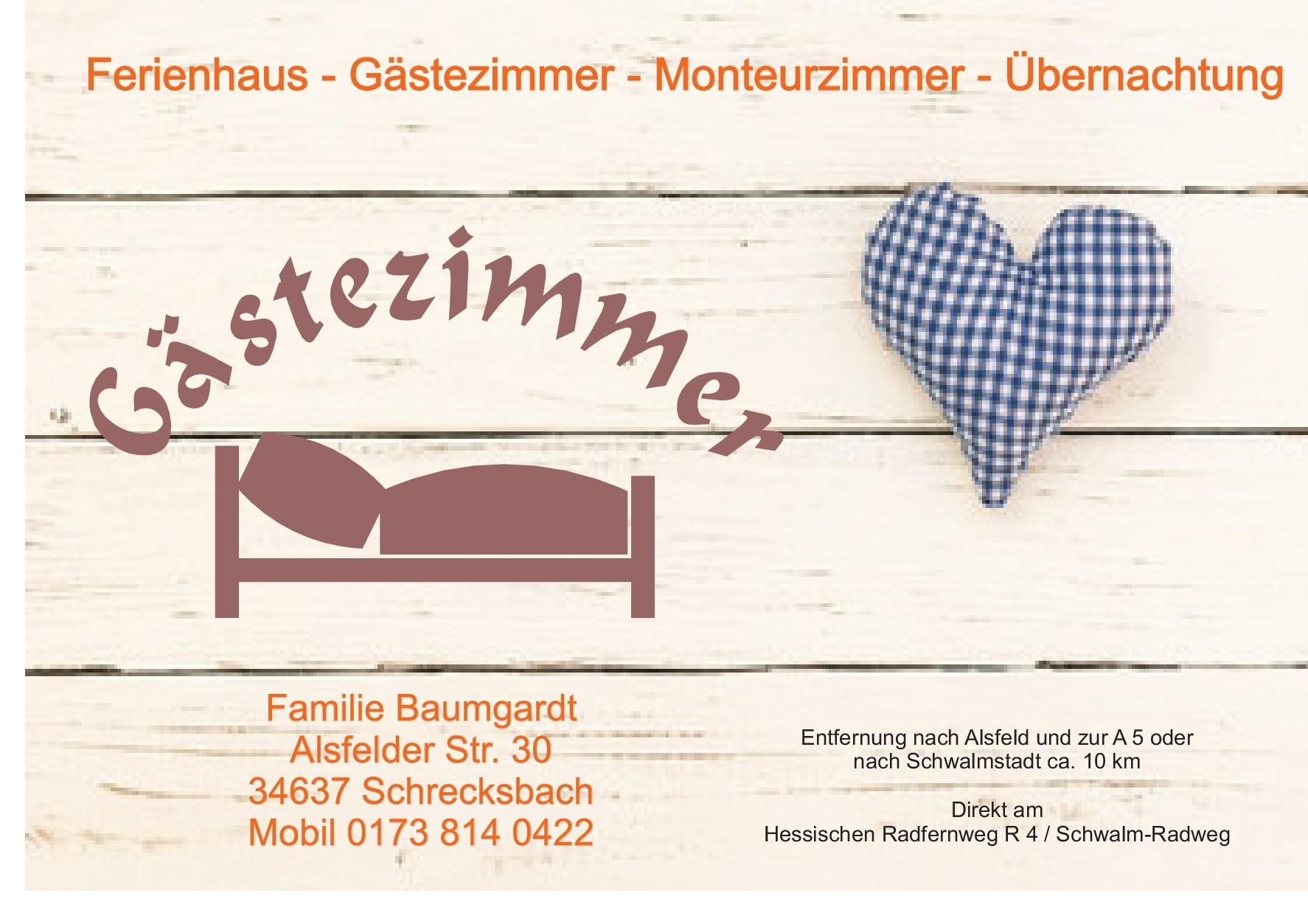 Ferienwohnung Schrecksbach